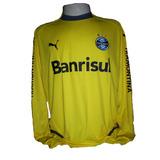 Camisa Goleiro Grêmio 2008 Manga Longa Tam Gg Puma a357a49dd0c8b