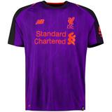 96a47cb61809d Camisa Liverpool Uniforme 2 2018 2019 Frete Grátis