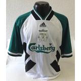 Camisa Liverpool 1993 1995 adidas Original Carlsberg ce648dc474e46
