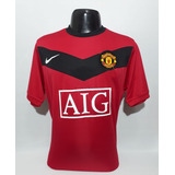 0853eee2d9 Camisa Manchester United Home Nike Temporada 09 10