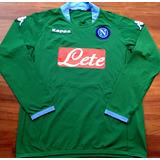 Camisa Napoli 2005 Mangas Longas Kappa Verde Raríssima 32733befe4fac