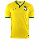 Camisa Nike Seleção Brasil Cbf 2014 Meião Frete Gratis 074f1d39addfe