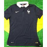 Camisa Oficial Seleção Da França Copa 2014 N19 Pogba Jogador e830f34640ed8