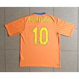 5bf34c17c6 Camisa Original Barcelona 2006 2007 Away 10 Ronaldinho