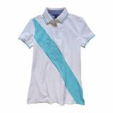 Camisa Polo Feminina Tommy Hilfiger 100% Original Tam P P7 55d91985d02