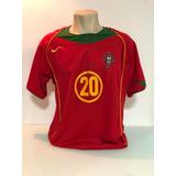 0b97193824fa7 Camisa Portugal 2004 05 Original Da Época
