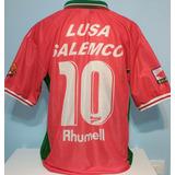 5e2e18c634b25 Camisa Portuguesa 1999 Lusa Salemco Rhumell Impecável 99