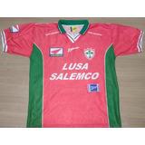 06d53c404ebb7 Camisa Portuguesa Impecável 1999 Lusa Salemco Rhumell 99