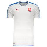 9ce7ef9124 Camisa Puma República Checa Away 2016 Futfanatics