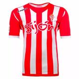Camisa Real Sporting Gijon Kappa Home 2012 13 Espanha f8a23d89f0122