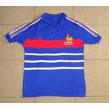 Camisa Retrô França 1984 Home 996f34651887f