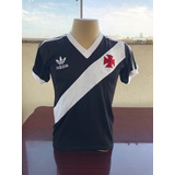 Camisa Retro Vasco 1984 Preta adidas Masculina 1c6901b168a84