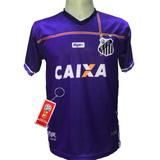 21bf4bb4f5be4 Camisa Santos Roxa Nova 2018 2019 Lançamento