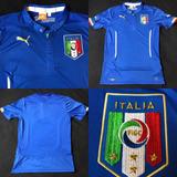 bb58bdbd96 Camisa Seleção Italia 2014 2016 Home Tam M 71x47 Veste P