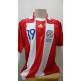 9ae1089352e8c Camisa Seleção Paraguai Jogo
