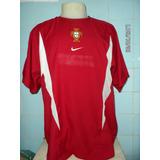 Camisa Seleção Portugal Nike Modelo 2002 adcab7488f156