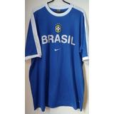Camisa Treino Seleção Brasileira Brasil Cbf Nike 98 2002 5a70c9bb66b8e