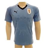 Camisa Uruguai Selecao Azul Tam  Pmggg 187e83019d2eb