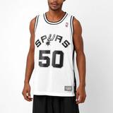 58f2c75b2 Camisa adidas Nba Retired San Antonio Spurs David Robinson