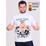 Camiseta Game Over Loja Do Som Shopping Música Vídeos E Letras