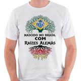 39bb8355b2 Camiseta Alemão Descendente Alemanha Camisa Blusa
