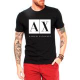 968fe710f52 Camiseta Camisa Armani Exchange Masculina super Promoção