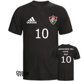 Camiseta Camisa Time Fluminense Personalizada Com Nome