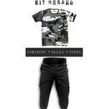 Camiseta Camuflado Urbano Calça Tática Rip Stop Cinto 6d7f2b9602b