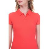 Camiseta Feminina Gola Polo Cores Diversas promoção 645b96d1d874b