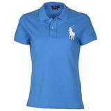 Camiseta Gola Polo Feminina Polo Ralph Lauren Skinny 8d41d7dd84f49