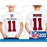 0e0df11c66 Camiseta Infantil Atlanta Falcons Nfl Futebol Americano