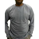 49c31df9b Camiseta Manga Longa Malha Fria cores 100%poliester M g gg