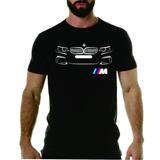 Camiseta Personalizada Bmw Série M Z 320 120 Audi Carro X5 be11bb2ded620