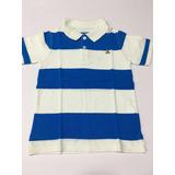 2bbc62050 Camiseta Polo Baby Gap Listrada Azul E Branc 4 Anos Menino