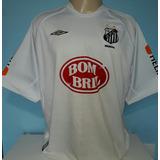 2a7a89799 Camiseta Santos Robinho Brasileiro 2004 Ótimo Estado 07