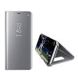 Capa  Espelhada Luxo Flip Galaxy S9 Normal   Pelicula De Gel