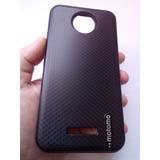 Capa Anti Impacto Motorola Moto C Plus Xt1726 5 0  p vidro