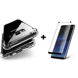 Capa Anti Impacto   Película Curva 3d Galaxy S8 Envio Fast