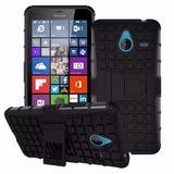 Capa Armatura Anti Impacto Nokia Lumia 640xl pelicula Vidro