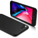 Capa Capinha Silicone Ultra Slim Fosca Iphone 7 Plus 8 Plus