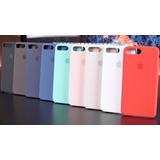 Capa Case Silicone Iphone 6 6s 7 8 X E Plus Original
