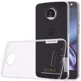 Capa Nillkin Tpu   Película Vidro Premium P  Motorola Moto Z