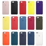 Capa Silicone Case Iphone 6s 7 8 10 X Apple Lacrada Original