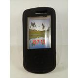 Capa Silicone Preto Celular Nokia 6710 Navigator