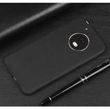 Capa Ultra Fina Slim Fosca Motorola Moto X4  1 Pelicula Vidr