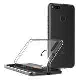 Capa Xiaomi Mi A1 5x Capinha Tpu Transparente   Película Gel