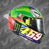 Capacete Agv Pista Gp R Mugello 2017 Kentucky Kid Original