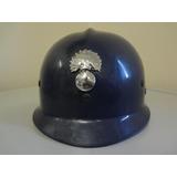 Capacete Policia Militar Belgica França Antigo