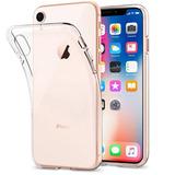 Capinha Case Ultra fina Transp Tpu Iphone 6 7 8 Plus X Xr