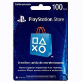Cartão Playstation Br Brasil Psn R$100 Reais Plus Brasileiro